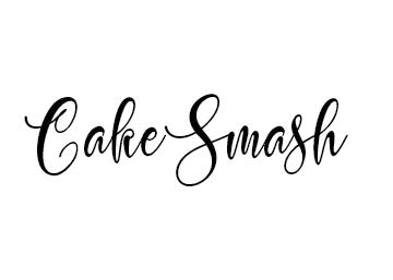 Cake Smash Text Image