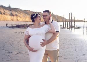 Adelaide based Accredited Professional Photographer Jennifer White Photography Maternity Photo shoot