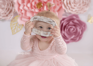 Adelaide based Accredited Professional Photographer Jennifer White Photography Cake Smash Photo Shoot