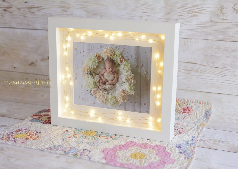 Fairy Light Box Frame 1