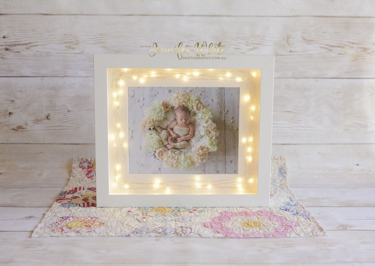 Fairy Light Box Frame 2